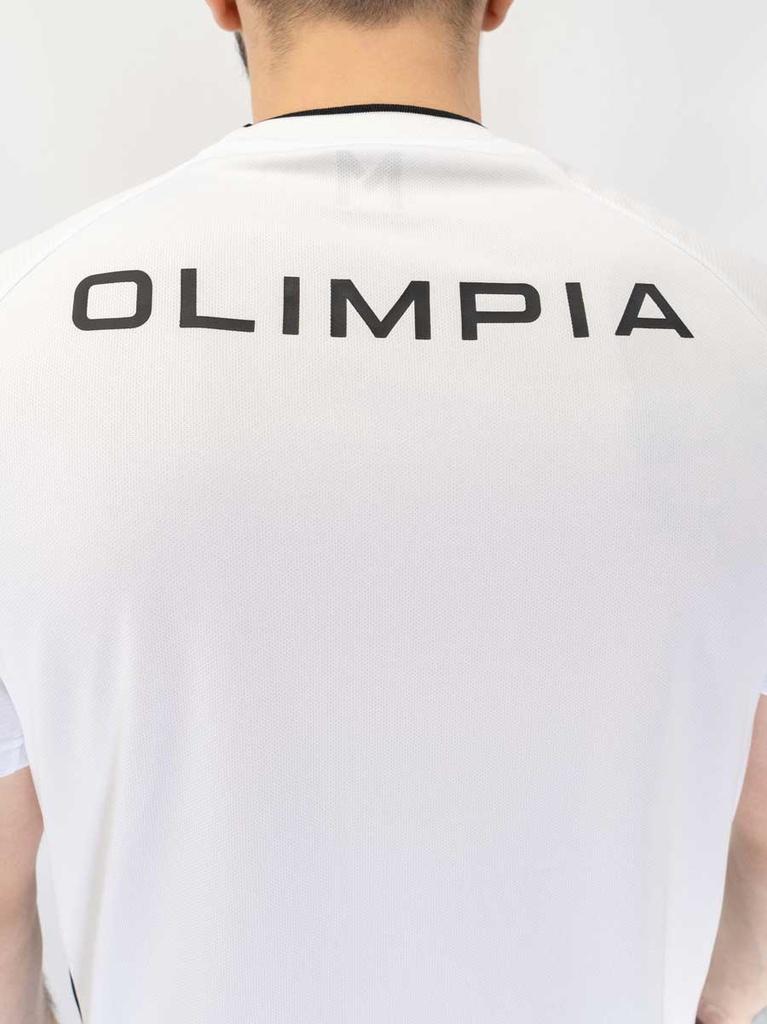 OLIMPIA M TRAINING TOP BLANCA